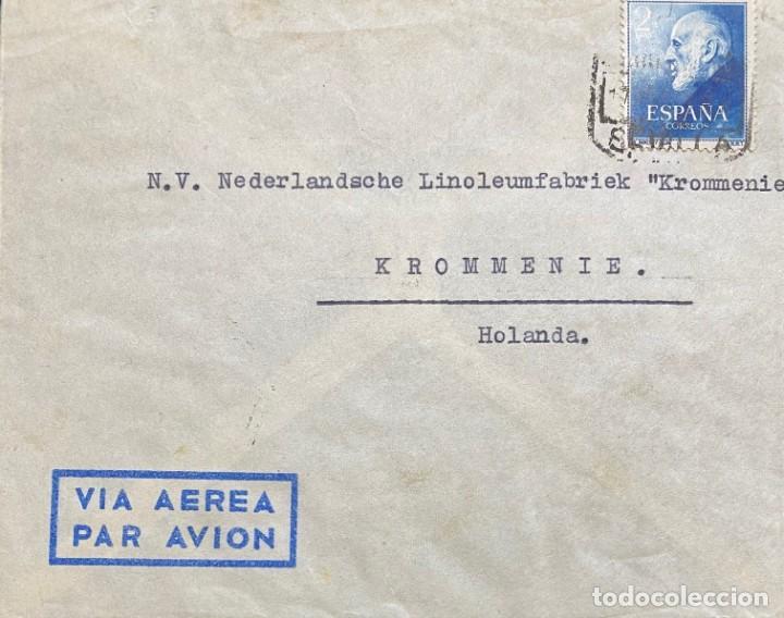 ESPAÑA CARTA SEGUNDO CENTENARIO (Sellos - España - II Centenario De 1.950 a 1.975 - Cartas)