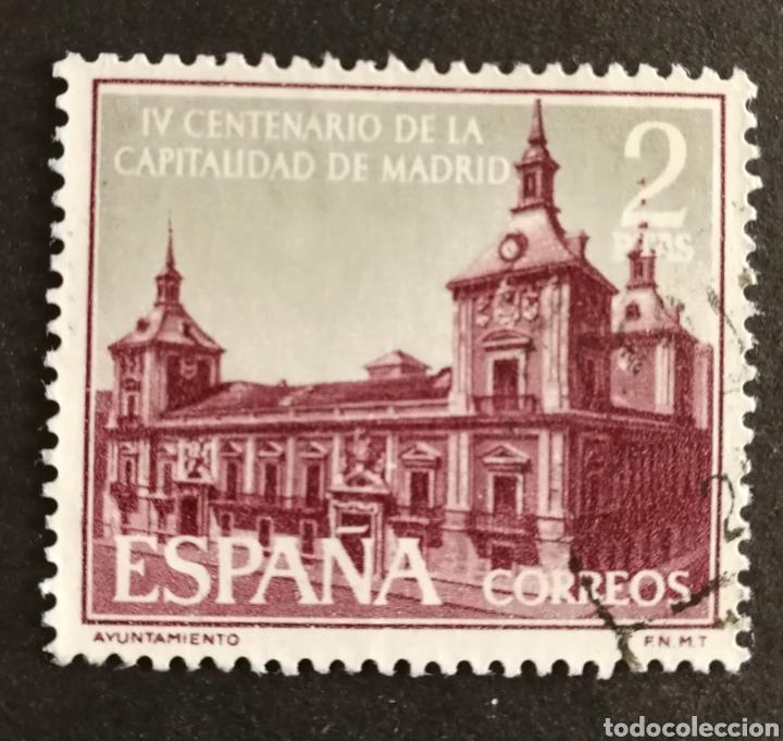 ESPAÑA, N°1390 USADO AÑO 1961 (FOTOGRAFÍA ESTÁNDAR) (Sellos - España - II Centenario De 1.950 a 1.975 - Usados)