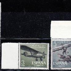 Sellos: 1961 EDIFIL 1401/05** NUEVOS SIN CHARNELA BH. AVIACION ESPAÑOLA (220-7). Lote 206576345