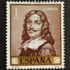 Sellos: ESPAÑA, N°1502 USADO, AÑO 1963 (FOTOGRAFÍA ESTÁNDAR). Lote 206774957