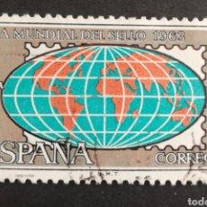 Sellos: ESPAÑA, N°1510 USADO, AÑO 1963 (FOTOGRAFÍA ESTÁNDAR). Lote 206777568