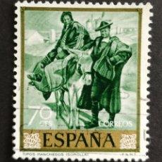 Sellos: ESPAÑA, N°1568 USADO AÑO 1964 (FOTOGRAFÍA ESTÁNDAR). Lote 206795117