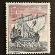 Selos: ESPAÑA N°1599 MNH AÑO 1964 (FOTOGRAFÍA ESTÁNDAR). Lote 206805258