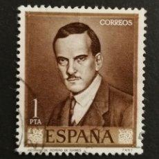 Sellos: ESPAÑA, N°1661 USADO AÑO 1965 (FOTOGRAFÍA ESTÁNDAR). Lote 252521610
