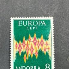 Sellos: EDIFIL 72. EUROPA CEPT ANDORRA. 8 PTAS. NUEVO. VER. Lote 206872027