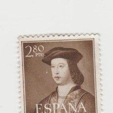 Sellos: EDIFIL 1110- NUEVO-RESTO DE CHARNELA. Lote 206890058