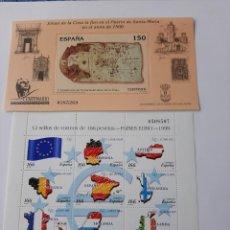 Sellos: JUAN DE LA COSA , PAISES € Y CARLOS V. Lote 207015386