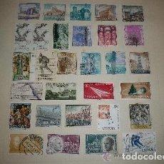 Sellos: ESPAÑA - LOTE DE 30 SELLOS USADOS. Lote 207266096