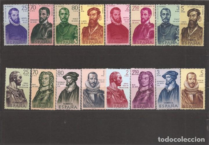 SELLOS DE ESPAÑA AÑO 190Y 1961 FORJADORES DE AMÉRICA SELLOS NUEVOS** (Sellos - España - II Centenario De 1.950 a 1.975 - Nuevos)