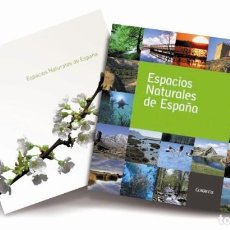 Sellos: SELLOS ESPAÑA LIBRO CON ESTUCHE - ESPACIOS NATURALES DE ESPAÑA - CON TODOS LOS SELLOS EN NUEVO. Lote 210197805
