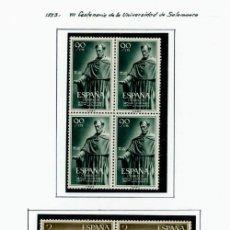 Francobolli: ESPAÑA. 1953 COMO NUEVO NUNCA CON BISAGRAS ** BLOQUE. - 4. Lote 210429000