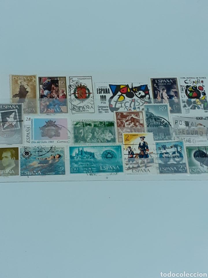 LOTE DE 37 SELLOS ESPAÑOLES, CON MATASELLOS (Sellos - España - II Centenario De 1.950 a 1.975 - Usados)