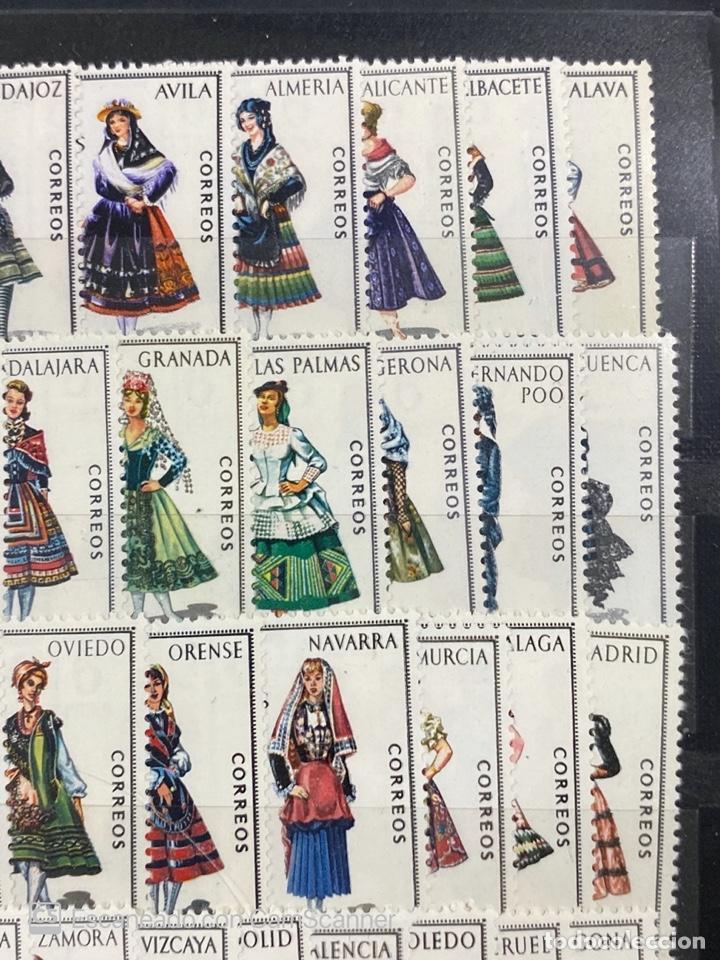 Sellos: COLECCION DE SELLOS. ESPAÑA TRAJES REGIONALES. SERIE COMPLETA. 53 SELLOS. NUEVOS. VER - Foto 7 - 210646372