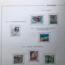 Sellos: HOJAS FILABO 1973 CON SELLOS ESPAÑA AÑO COMPLETO USADO HFS70. Lote 210741385