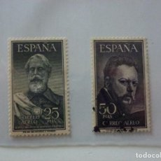 Sellos: SELLOS ESPAÑA, 1953 EDIFIL Nº 1124 / 1125, LEGAZPI Y SOROLLA. NUEVO Y USADO.. Lote 210769065