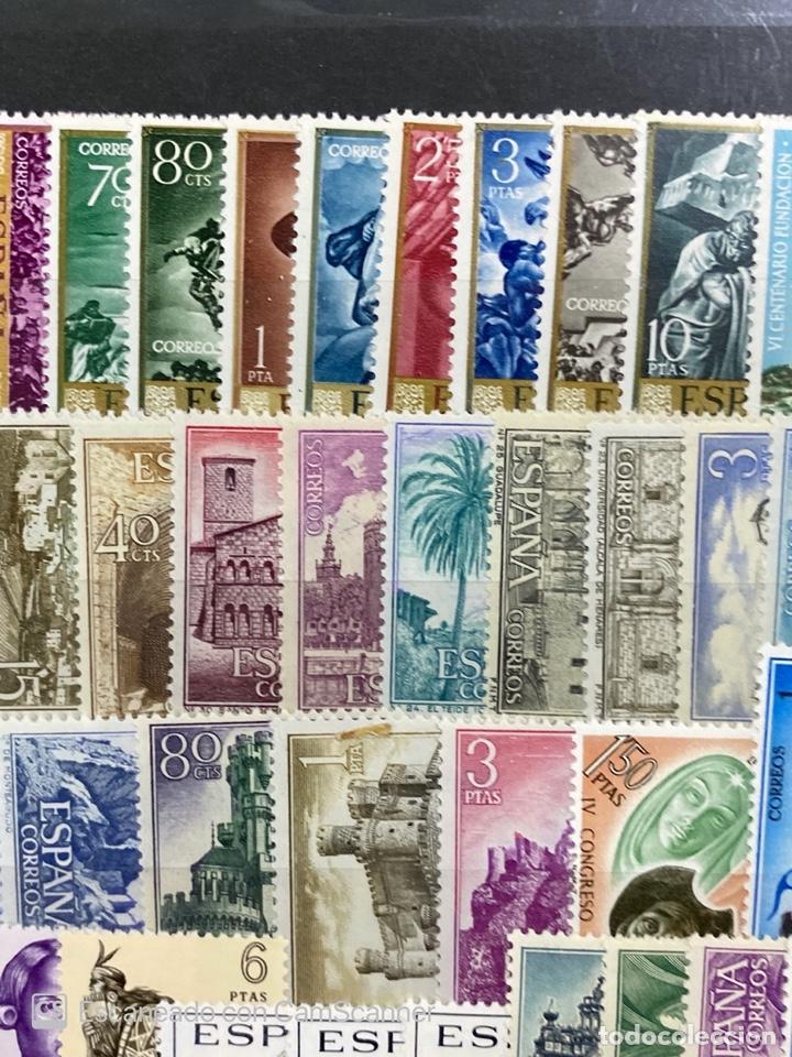 Sellos: SELLOS. ESPAÑA. AÑO 1966 COMPLETO. NUEVO. VER FOTOS - Foto 3 - 211751760