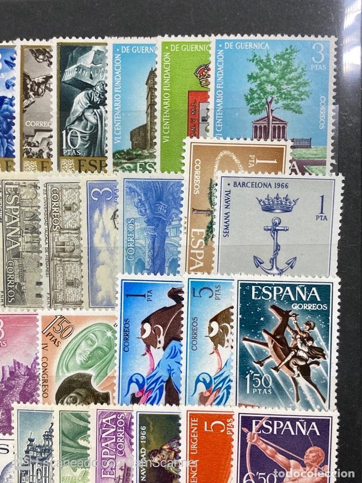 Sellos: SELLOS. ESPAÑA. AÑO 1966 COMPLETO. NUEVO. VER FOTOS - Foto 4 - 211751760