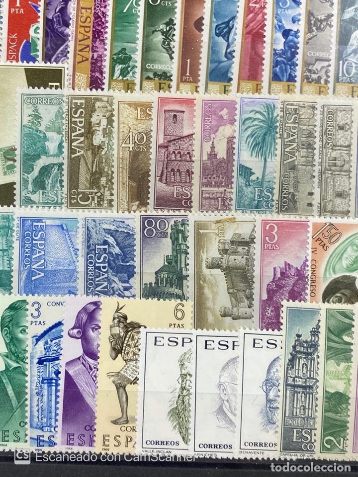 Sellos: SELLOS. ESPAÑA. AÑO 1966 COMPLETO. NUEVO. VER FOTOS - Foto 6 - 211751760