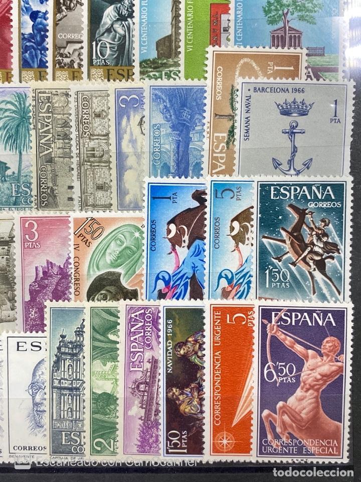 Sellos: SELLOS. ESPAÑA. AÑO 1966 COMPLETO. NUEVO. VER FOTOS - Foto 7 - 211751760