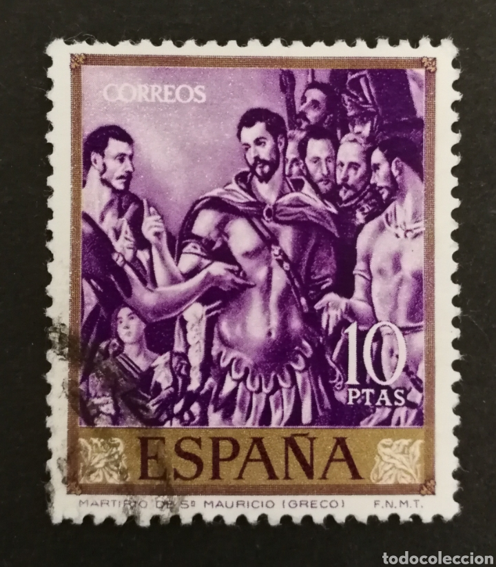 ESPAÑA, N °1339, USADO AÑO 1961 (FOTOGRAFÍA ESTÁNDAR) (Sellos - España - II Centenario De 1.950 a 1.975 - Usados)