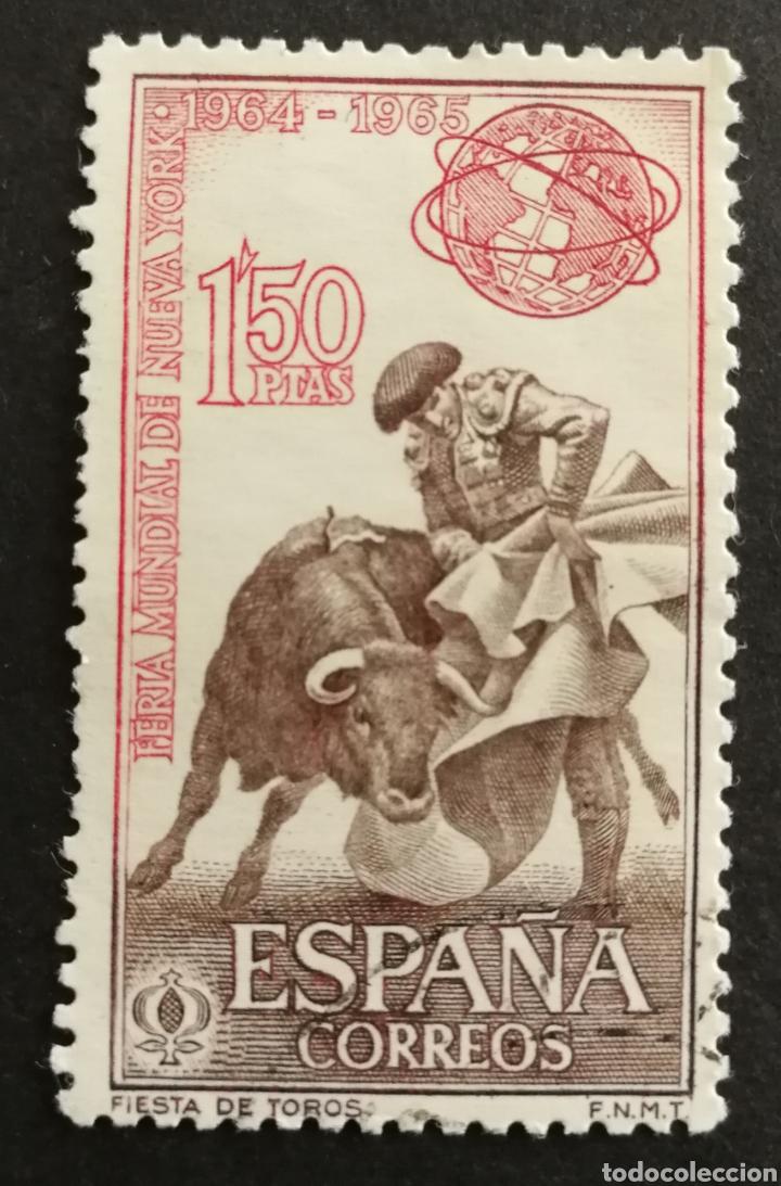 ESPAÑA N°1591 USADO AÑO 1964 (FOTOGRAFÍA ESTÁNDAR) (Sellos - España - II Centenario De 1.950 a 1.975 - Usados)