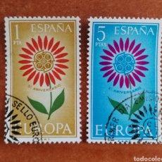 Sellos: ESPAÑA, EUROPA CEPT 1964 USADA (FOTOGRAFÍA ESTÁNDAR ). Lote 222217155