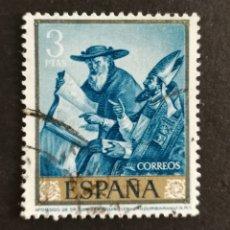 Sellos: ESPAÑA, N °1425 USADO, AÑO 1962 (FOTOGRAFÍA ESTÁNDAR). Lote 212417947