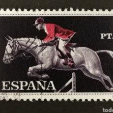 Sellos: ESPAÑA, N°1318 USADO, AÑO 1960 (FOTOGRAFÍA ESTÁNDAR). Lote 212418081