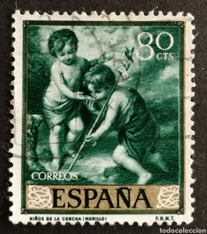 ESPAÑA, N°1274 USADO, AÑO 1960 (FOTOGRAFÍA ESTÁNDAR) (Sellos - España - II Centenario De 1.950 a 1.975 - Usados)