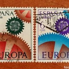 Timbres: ESPAÑA, EUROPA CEPT 1967 USADA (FOTOGRAFÍA ESTÁNDAR ). Lote 212582241