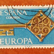 Timbres: ESPAÑA, EUROPA CEPT 1968 USADO (FOTOGRAFÍA ESTÁNDAR ). Lote 212607642
