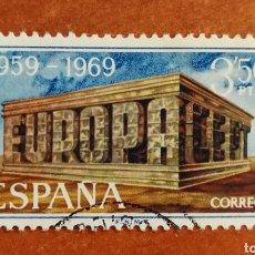 Timbres: ESPAÑA, EUROPA CEPT 1969 USADA (FOTOGRAFÍA ESTÁNDAR ). Lote 212629330