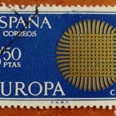 Timbres: ESPAÑA, EUROPA CEPT 1970 USADA (FOTOGRAFÍA ESTÁNDAR ). Lote 212636495