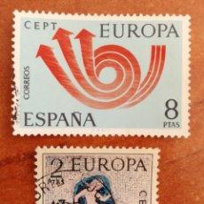 Timbres: ESPAÑA, EUROPA CEPT 1973 USADO (FOTOGRAFÍA ESTÁNDAR ). Lote 213329565