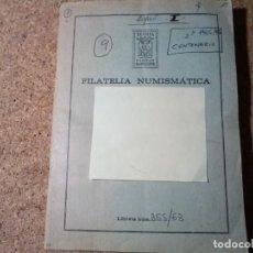 Sellos: LIBRETA NUMISMATICA CON 245 SELLOS DE LOS AÑOS 1965 / 75 USADOS. Lote 213381846