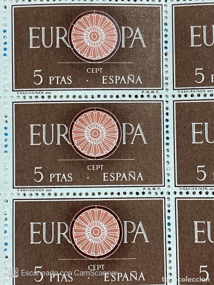 Sellos: EUROPA 1960. EDIFIL 1295. PLIEGO COMPLETO. NUEVO. VER - Foto 2 - 213687063