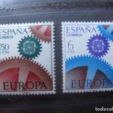 Sellos: -1967, EUROPA,EDIFIL 1795/96. Lote 213700930