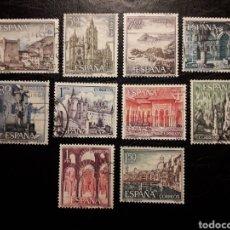 Sellos: ESPAÑA EDIFIL 1541/50 SERIE COMPLETA USADA. PAISAJES Y MONUMENTOS. TURISMO 1964.. Lote 214441668