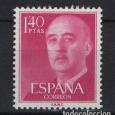 Francobolli: ..G-SUB_8/ ESPAÑA 1955-56, EDIFIL 1154 MNH**, GENERAL FRANCO. Lote 276052653