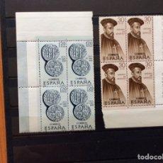 Sellos: 40 SELLOS PERSONAJES DE AMÉRICA 1966. Lote 215593992