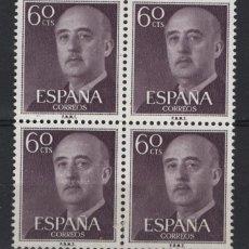 Sellos: .G-SUB_8/ ESPAÑA 1955-56, EDIFL 1150 MNH**, GENERAL FRANCO. Lote 215688462