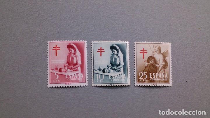 ESPAÑA - 1953 - EDIFIL 1121/1123 - SERIE COMPLETA - MNH** - NUEVOS - PRO TUBERCULOSOS. (Sellos - España - II Centenario De 1.950 a 1.975 - Nuevos)