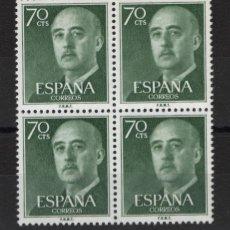 Sellos: .G-SUB_8/ ESPAÑA 1955-56. EDIFIL 1151 MNH**, GENERAL FRANCO. Lote 216645386