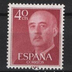 Sellos: .G-SUB_8/ ESPAÑA 1955-56, EDIFIL 1148 MNH**, GENERAL FRANCO. Lote 216648733