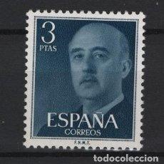 Sellos: .G-SUB_8/ ESPAÑA 1955-56, EDIFIL 1159 MNH**, GENERAL FRANCO. Lote 216785346