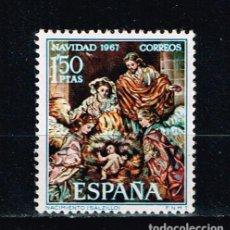 Sellos: ESPAÑA 1967 - EDIFIL 1838** - NAVIDAD 1967. Lote 217364682