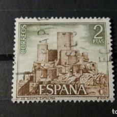 Sellos: SELLO USADO. CASTILLOS DE ESPAÑA. SANTA CATALINA (JAEN). 22 JUNIO 1972. EDIFIL 2094. Lote 92137100