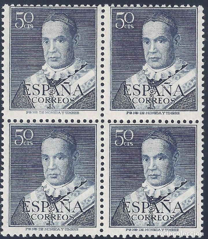 EDIFIL 1102 SAN ANTONIO MARÍA CLARET 1951 (VARIEDAD 1102IT...BLANCO EN Ñ DE ESPAÑA). LUJO. MNH ** (Sellos - España - II Centenario De 1.950 a 1.975 - Nuevos)