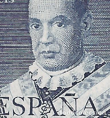 Sellos: EDIFIL 1102 SAN ANTONIO MARÍA CLARET 1951 (VARIEDAD 1102it...BLANCO EN Ñ DE ESPAÑA). LUJO. MNH ** - Foto 3 - 218431998