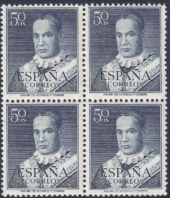 EDIFIL 1102 SAN ANTONIO MARÍA CLARET 1951 (VARIEDAD 1102TA...RETOQUE EN LA MEJILLA). LUJO. MNH ** (Sellos - España - II Centenario De 1.950 a 1.975 - Nuevos)
